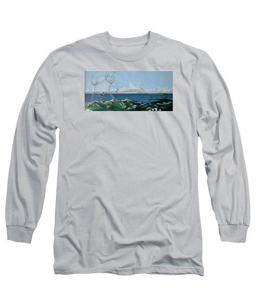 Feminine Landscape Long Sleeve T-Shirt