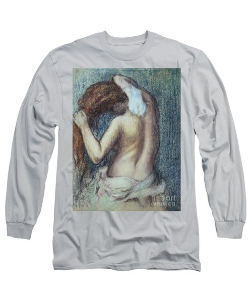 Femme A Sa Toilette Long Sleeve T-Shirt