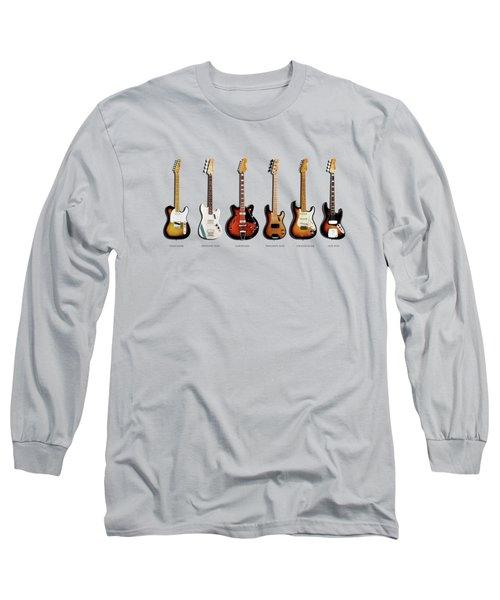 Fender Guitar Collection Long Sleeve T-Shirt