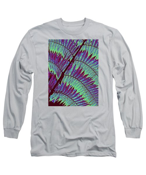 Fern In Technicolor Long Sleeve T-Shirt