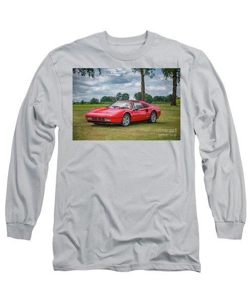 Long Sleeve T-Shirt featuring the photograph Ferrari 328 Gts by Adrian Evans
