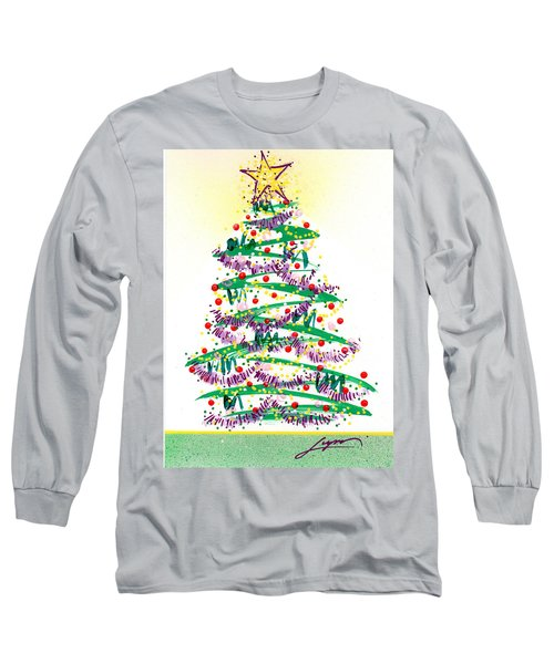 Festive Holiday Long Sleeve T-Shirt