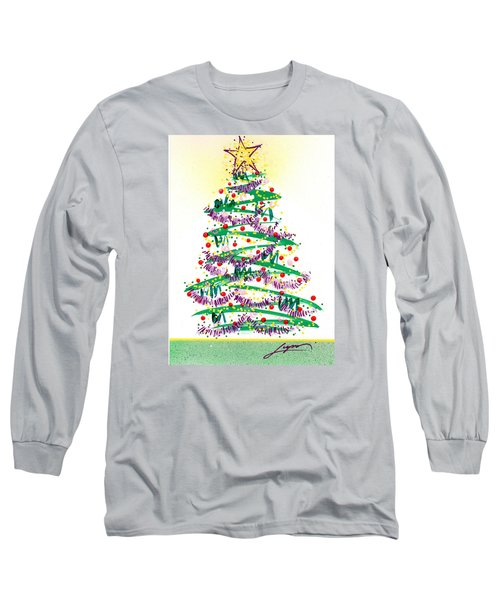 Festive Holiday Long Sleeve T-Shirt