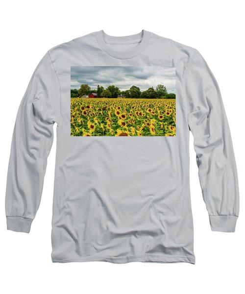 Field Of Sunshine Long Sleeve T-Shirt