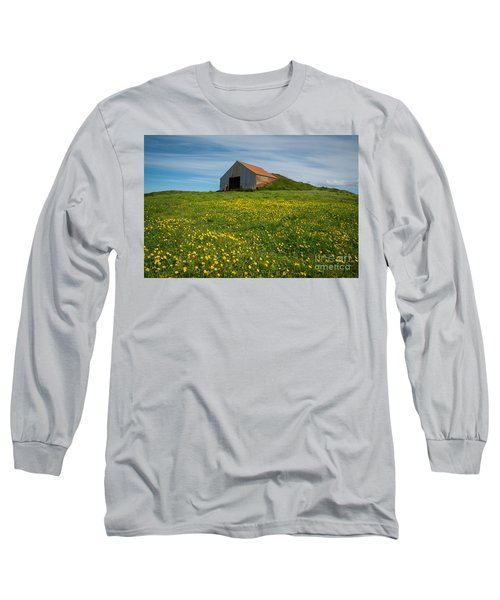 Field Of Yellow  Long Sleeve T-Shirt