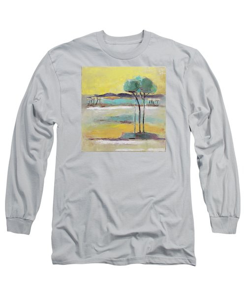 Standing In Distance Long Sleeve T-Shirt by Becky Kim