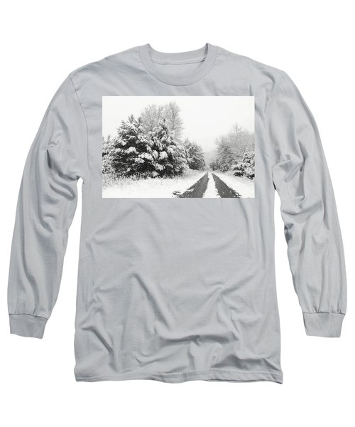 Long Sleeve T-Shirt featuring the photograph Find A Pretty Road by Lori Deiter