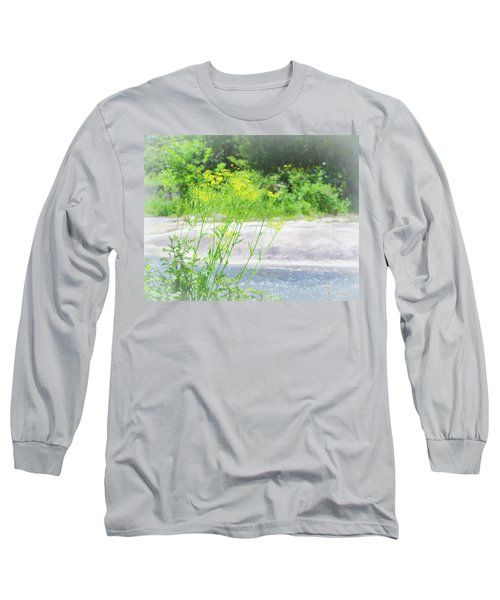 Fine Creek No. 2 Long Sleeve T-Shirt by Laura DAddona