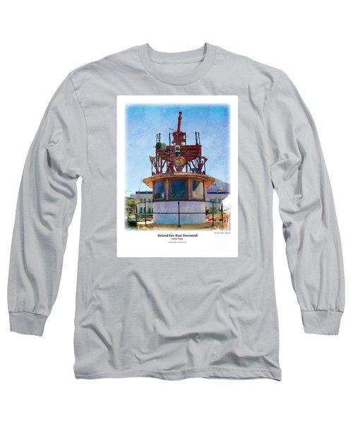Fire Boat Long Sleeve T-Shirt
