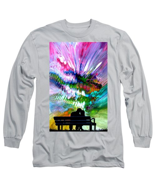 Fire Works In The Park Long Sleeve T-Shirt