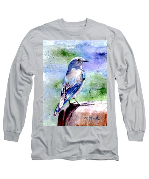 Firehole Bridge Bluebird - Female Long Sleeve T-Shirt