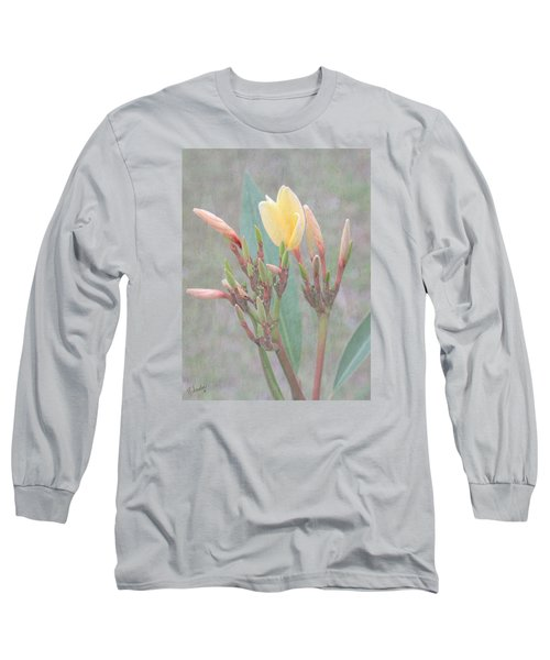 Long Sleeve T-Shirt featuring the photograph First Bud by Rosalie Scanlon