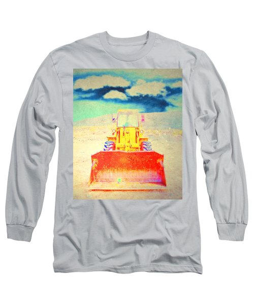 Long Sleeve T-Shirt featuring the photograph First In  by Mark Ross