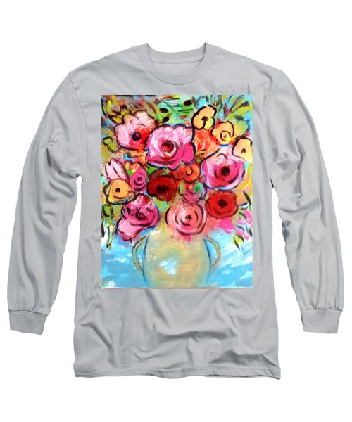 First Roses Of Summer Long Sleeve T-Shirt