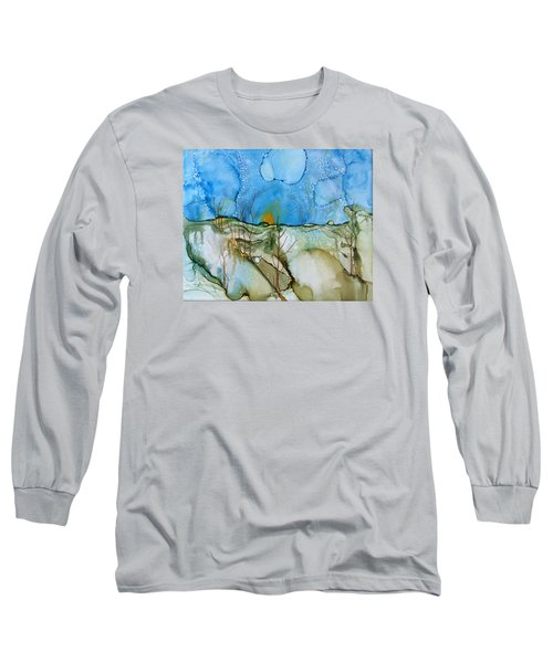 First Snowfall Long Sleeve T-Shirt by Pat Purdy