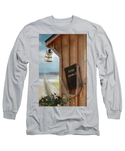 Long Sleeve T-Shirt featuring the photograph Fish Fileted by Lori Deiter