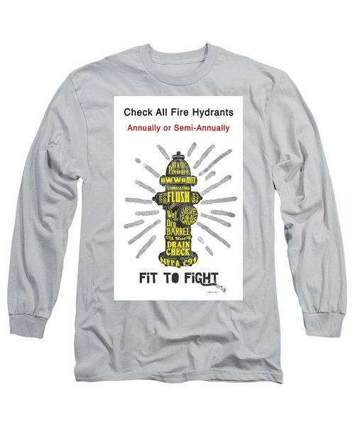Fit To Fight Long Sleeve T-Shirt