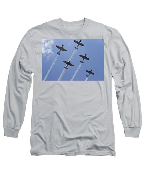 Long Sleeve T-Shirt featuring the photograph Five Out Of Six by Miroslava Jurcik