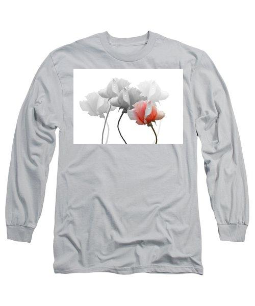Five Roses Long Sleeve T-Shirt by Rosalie Scanlon