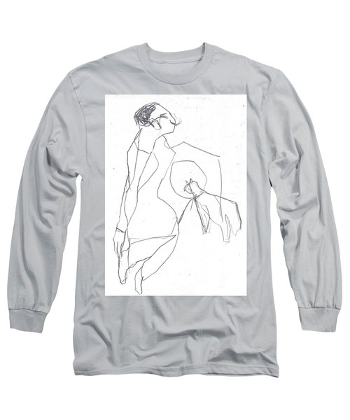 Fleeing Woman Long Sleeve T-Shirt