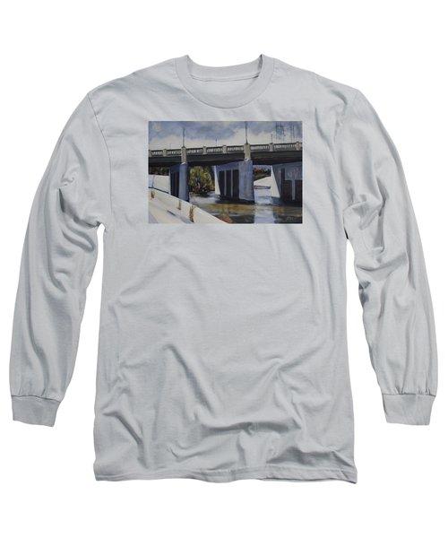 Fletcher Street Bridge Long Sleeve T-Shirt by Richard Willson