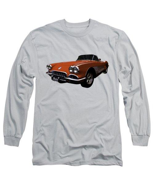 Flexing That Corvette Muscle Long Sleeve T-Shirt