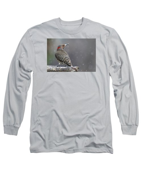 Flicker In Snowstorm Long Sleeve T-Shirt