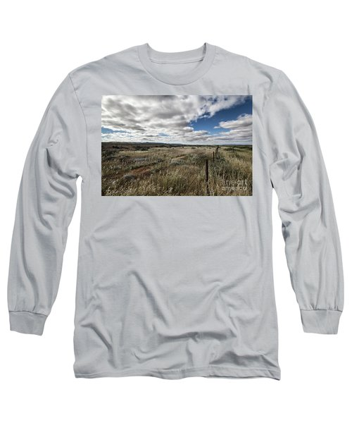 Flinders Ranges Fields V2 Long Sleeve T-Shirt by Douglas Barnard