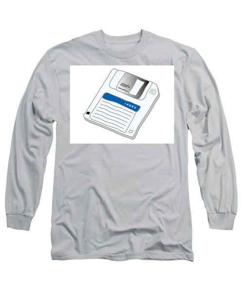 Floppy Disk Long Sleeve T-Shirt