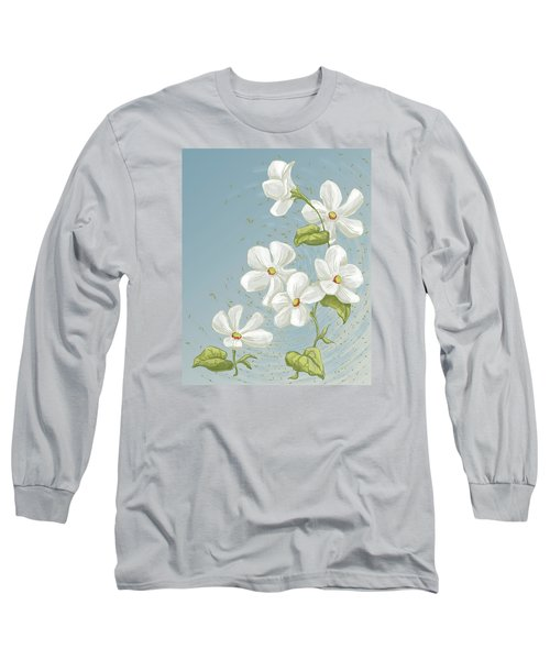 Floral Whorl Long Sleeve T-Shirt