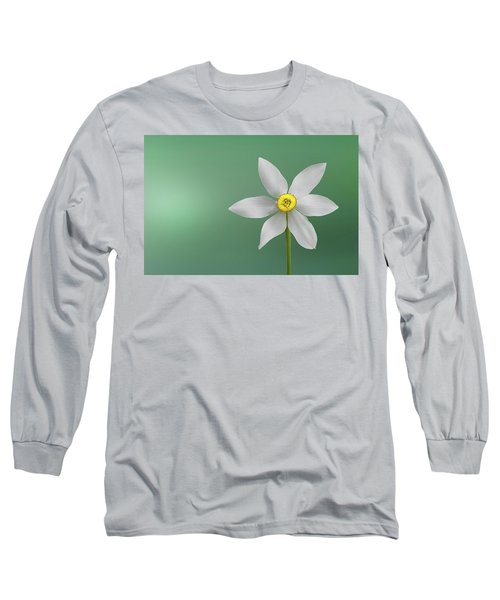 Flower Paradise Long Sleeve T-Shirt by Bess Hamiti