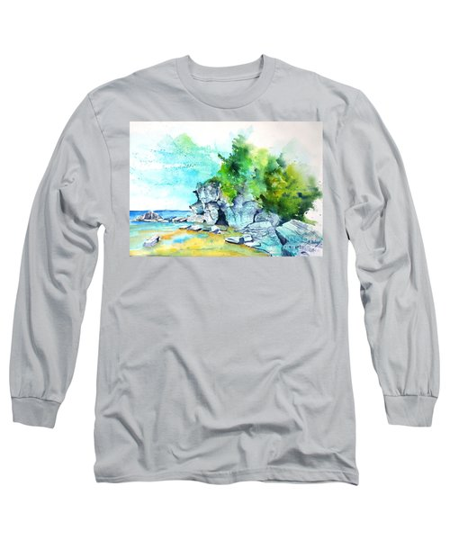 Flower Pot Island Long Sleeve T-Shirt