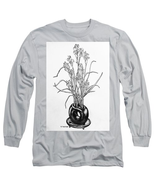 Flower Pot Long Sleeve T-Shirt