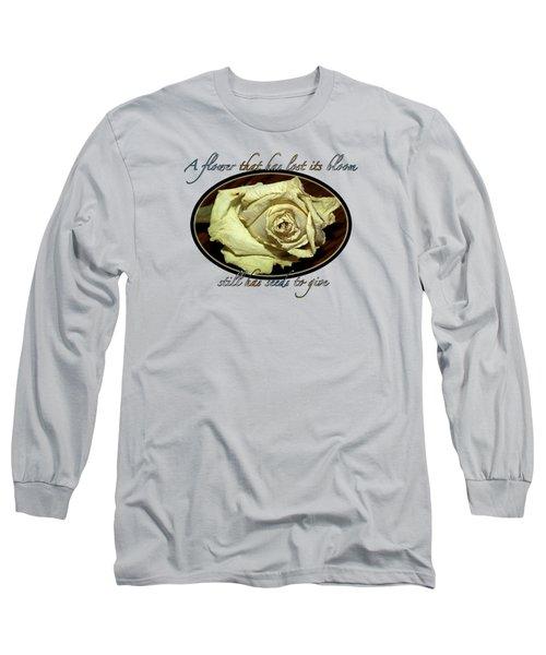Flower Wisdom Long Sleeve T-Shirt