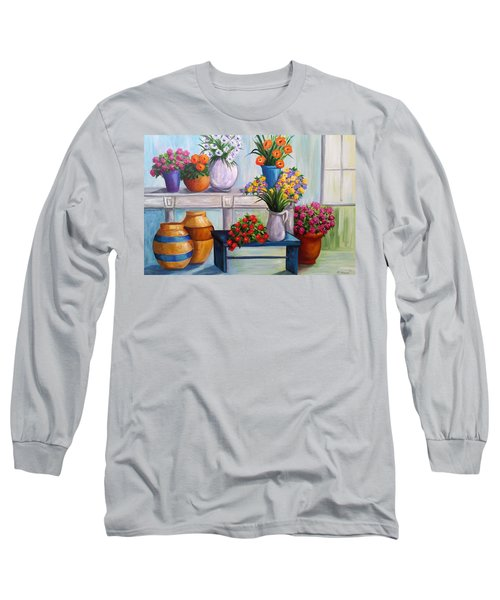 Flowerpots Long Sleeve T-Shirt