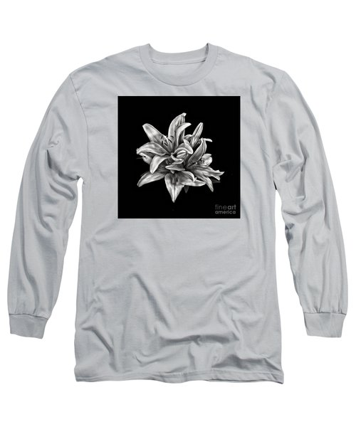 Flowers 8449 Long Sleeve T-Shirt by Walt Foegelle
