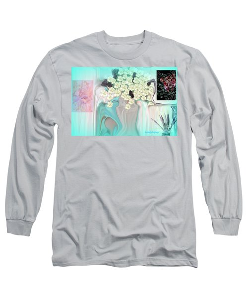 Water Please Long Sleeve T-Shirt by Sherri's Of Palm Springs