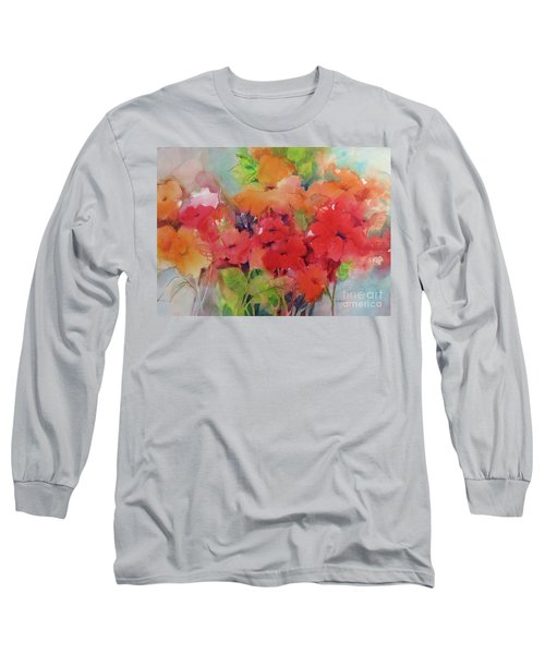 Flowers For Peggy Long Sleeve T-Shirt