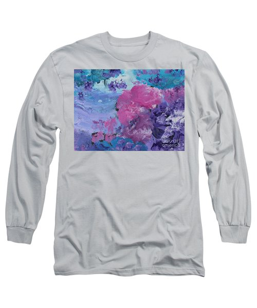 Flowers In The Clouds Long Sleeve T-Shirt