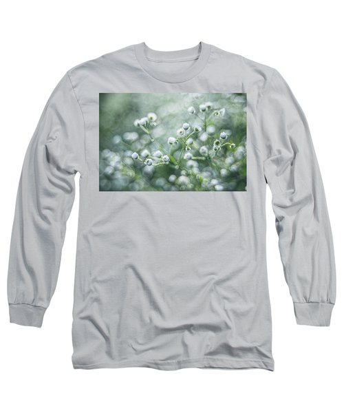 Flowers Long Sleeve T-Shirt by Jaroslaw Grudzinski
