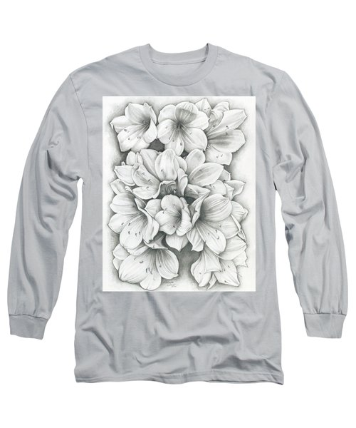 Clivia Flowers Pencil Long Sleeve T-Shirt