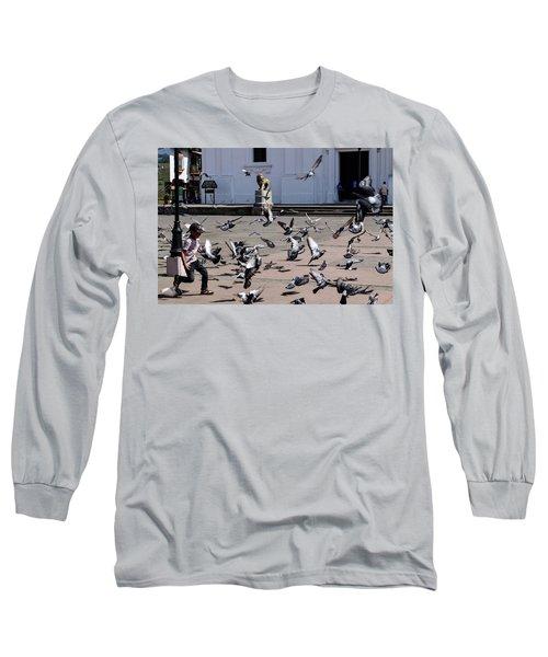 Fly Birdies Fly Long Sleeve T-Shirt