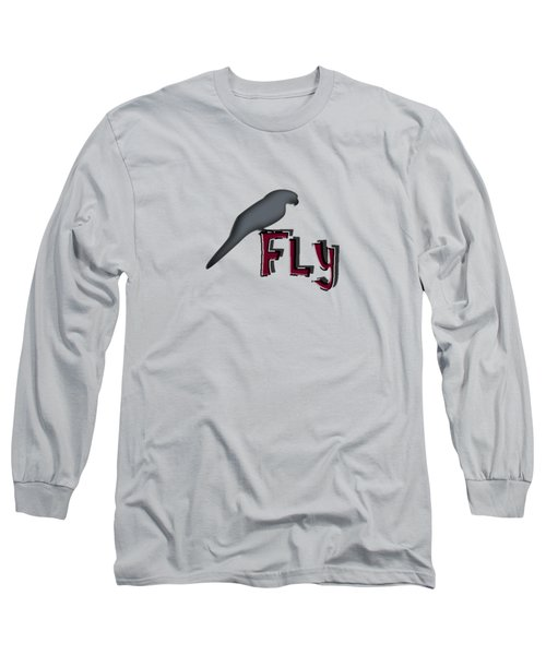 Fly Long Sleeve T-Shirt by Mim White