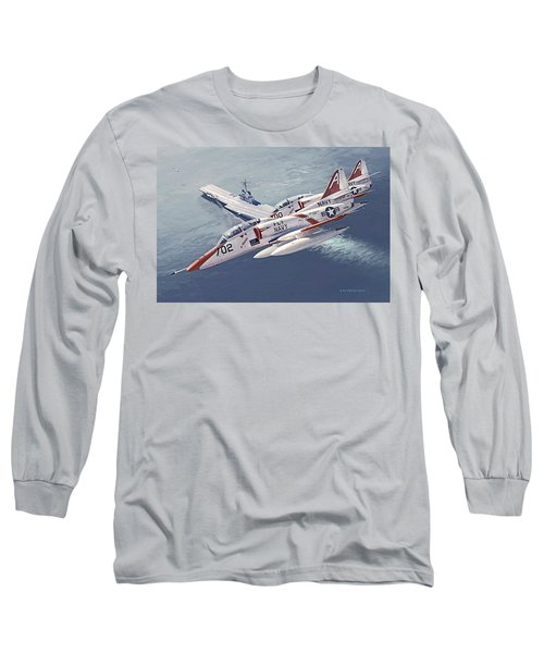 Fly Navy Long Sleeve T-Shirt