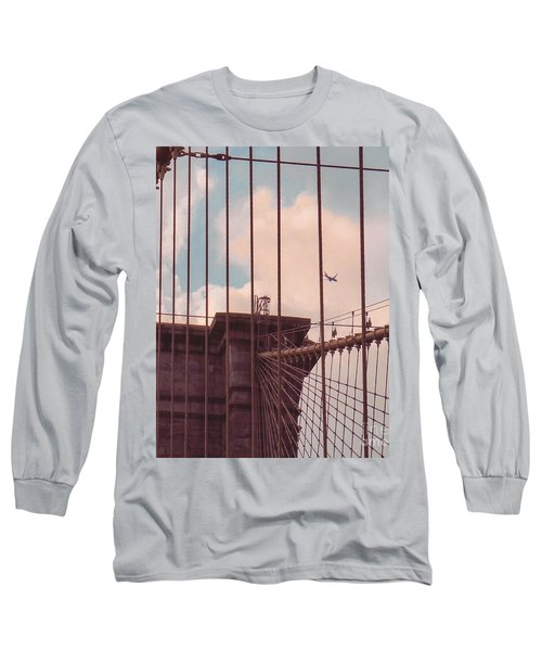 Fly Over Brooklyn  Long Sleeve T-Shirt