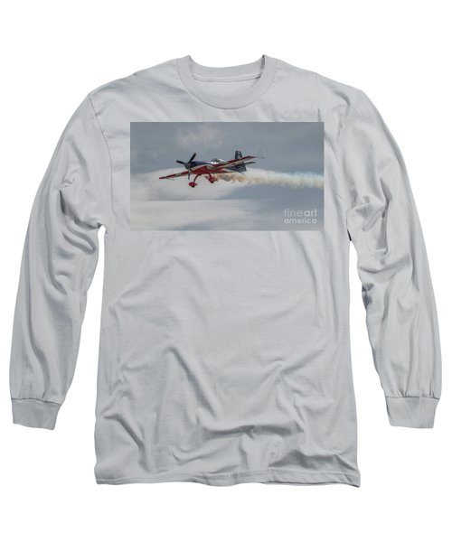 Flying Acrobatic Plane Long Sleeve T-Shirt