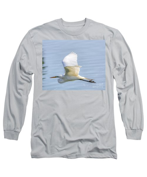 Flying Heron Long Sleeve T-Shirt