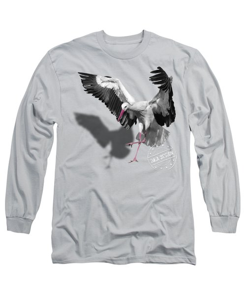 Flying Stork No 01 Long Sleeve T-Shirt