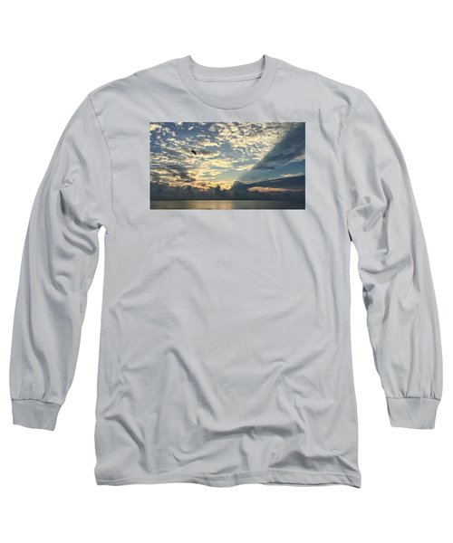 Flying To The Left Long Sleeve T-Shirt