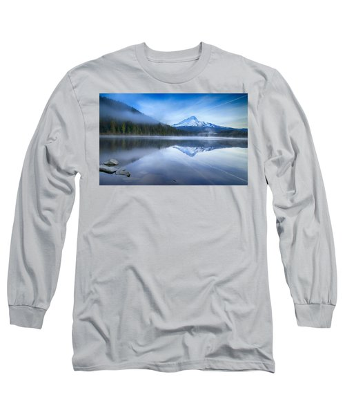Fog And The Lake Long Sleeve T-Shirt